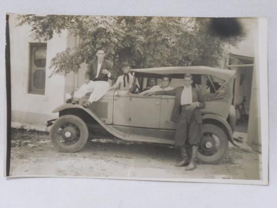 Foto Postal Cachila En Casa De Campo Antigua Años 1930