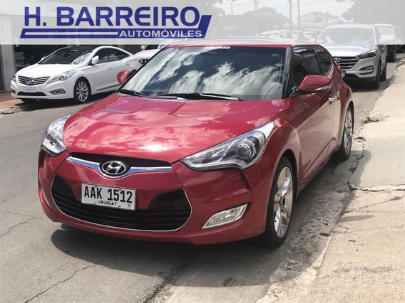 Hyundai Veloster Gls 1.6 Super Full At 2013 Excelente Estado