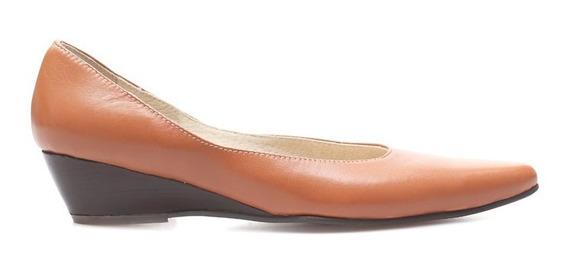 Zapato De Vestir De Cuero Marcel Calzados (cod.14599) Whisky