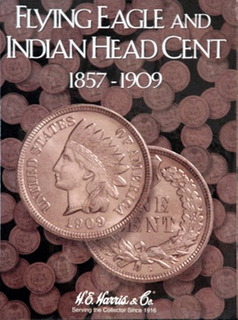 Album De Monedas Para Centavos Americanos (indian Head)