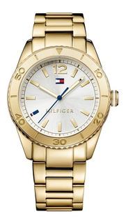 Reloj Tommy Hilfiger Ritz 1781268 Dama 100% Acero Gold