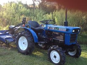 Tractor Iseki 4x4 Recondicionado De Origen Con Chirquera