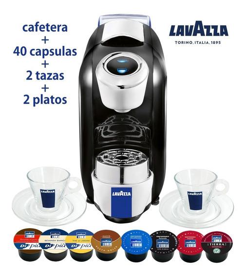 Cafetera Lavazza Italiana Automática Para Cápsulas Blue