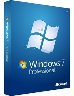 Licencia Original Windows 7 Pro 32/64 Bits Sticker Oficial