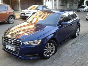 Audi A 3 1.2 Tsfi 2015 Azul 3 Puertas