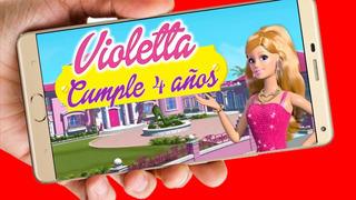 Tarjetas Infantiles Para Cumpleaños Barbie En Mercado Libre