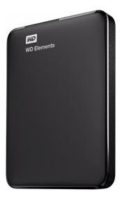 Disco Duro Externo Hdd 2.5 Wd Elements 1tb Usb3 Negro