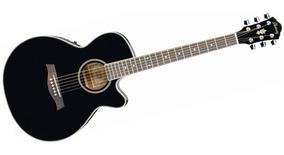 Guitarra Electroacustica Ibanez Aeg8e Bk