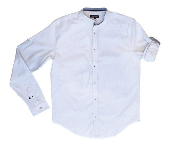 Camisa Cuello Mao 6281918/1 Jean Vernier