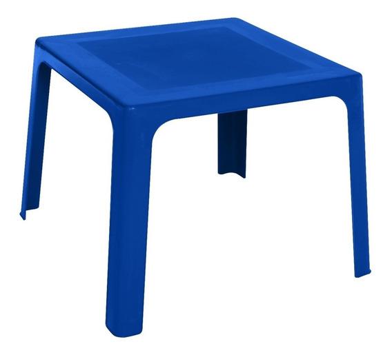 Mesa Plástico Azul Niño Niña Pequeñin Infantil Rimax Lg