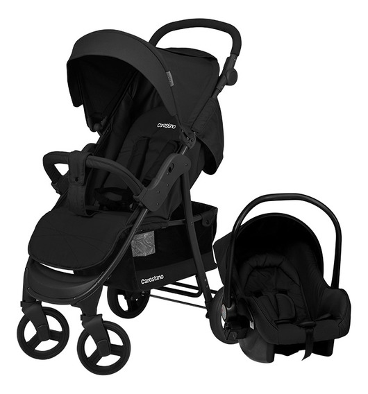 Coche Travel System Carestino Negro