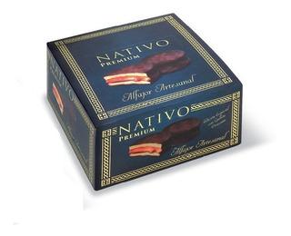Alfajor Chocolate Nativo Premium X8u