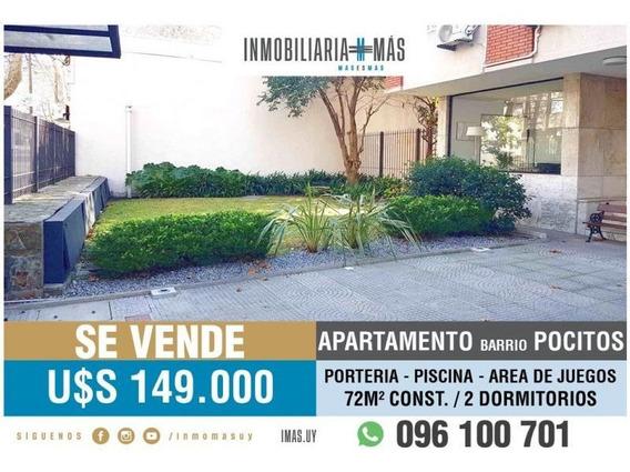 2 Dormitorios Venta Apartamento Pocitos Montevideo L