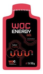 Gel Energizante Woc Energy 32g - Envio A Todo El Pais