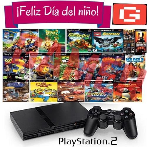 Dia De Niño Juegos Playstation 2 Pack 20 Juegos A Eleccion