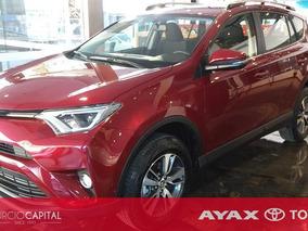 Toyota Rav4 Cvt Plus 2018 Rojo 0km