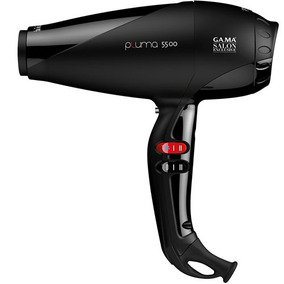 Secador Gama Salon Exclusive Pluma 5500 Ion Fise Black Gm-gm