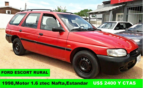 Vendo Financio Permuto Ford Escort Rural