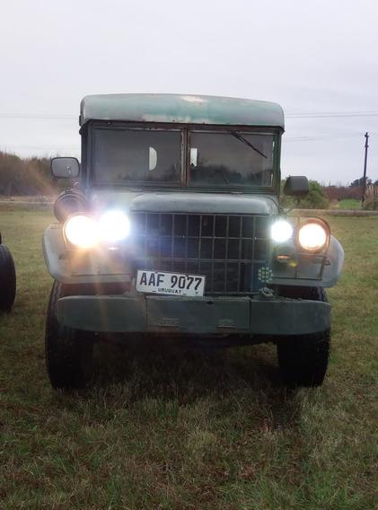 Dodge M43 C/trailer Militar,permuto,diesel,jeep,cj,motorhome