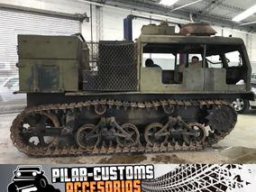 Tanque De Guerra M4 Tractor Único!!!
