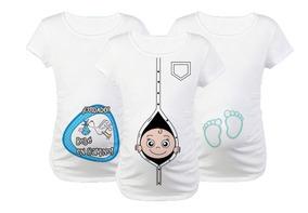 Remeras Personalizadas Para Embarazadas Babyshower