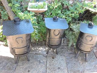 Calefactores Tipo Salamandras Quematuti Estufas A Laña