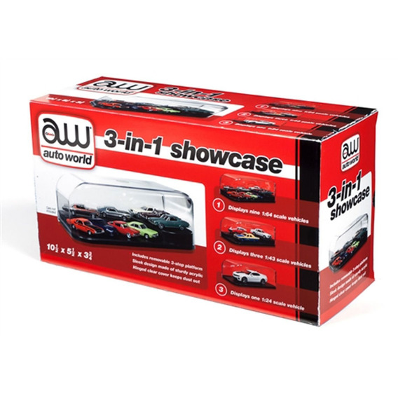 Collectible Display Show Case For 1/64 1/43 1/24 modelos