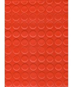 Piso Vinilico Unique Botones Rojo Ancho 2m (precio X M2)