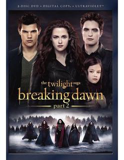 Crepúsculo - Amanecer, Parte 2 - Dvd, Original En Stock