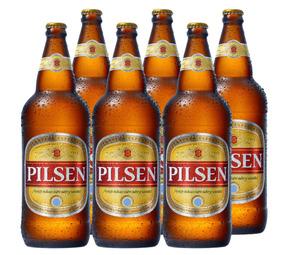 Cerveza Pilsen Litro Pack X6