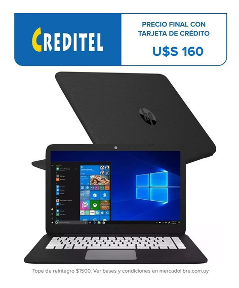 Notebook Netbook Hp Stream Celeron 4 32gb 14 Dimm #creditel