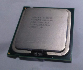 Microprocesador Intel Dual Core E5200 2.5ghz