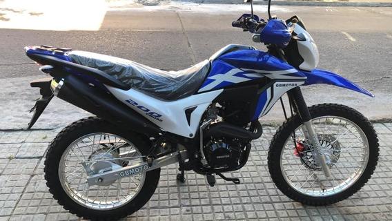 Moto 200cc Cross