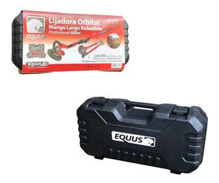 Lijadora Orbital Equus P/yeso Mango Rebatible C/luz Led 600w