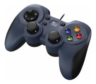 Joystick Logitech Gamepad F310 Blue Black P Pc Ps Zonatecno