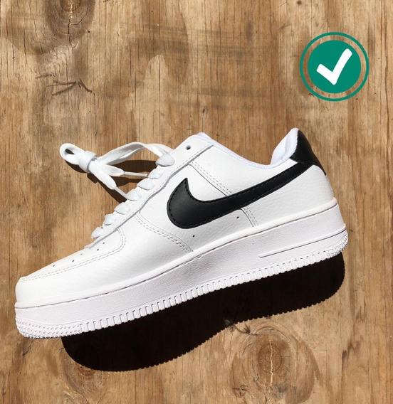 Nike Air Force Mujer Zapatillas Tenis en Mercado Libre