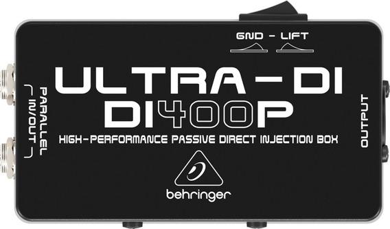 Caja Directa Behringer Di400p - Ultra Di Pro