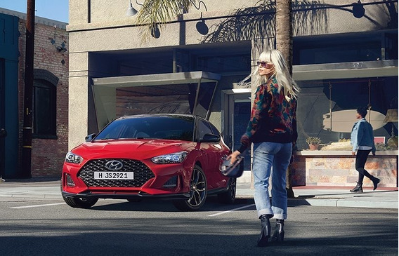 Hyundai New Veloster 1.6 Turbo 204hp 6mt / 7dct 2019 0km