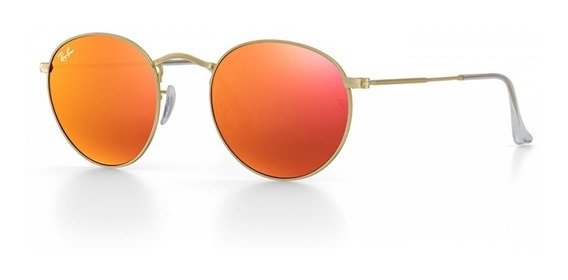 Lentes De Sol Ray-ban Roundmetal 3447 | New - Originales