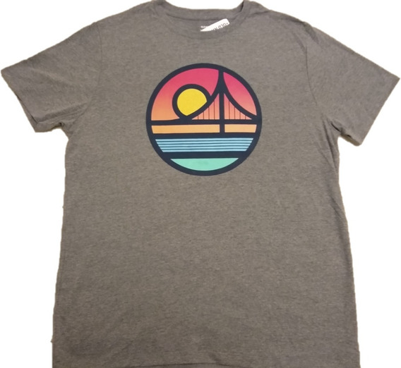 Remera Old Navy, Golden Gate, Talle L, Para Hombre