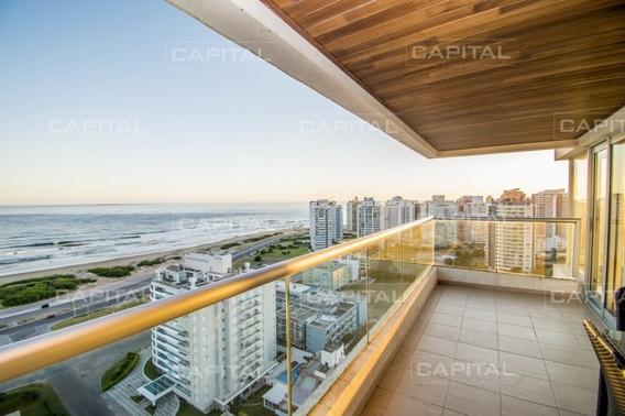 Icon Brava Punta Del Este Apartamento En Alquiler-ref:28501