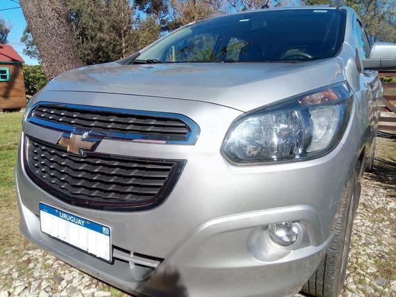 Chevrolet Spin Ltz 2014, Automática 7 Asientos Extra Full