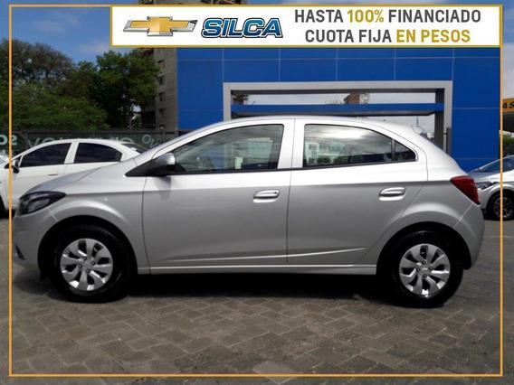 Chevrolet Onix Lt 1.0 Financiando Con Hsbc Gris Plata 0km