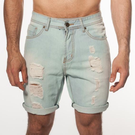 Bermuda Jeans Roturas Hombre Turk Marsella 200/19