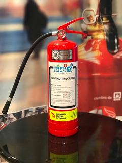 Extintor Abc 4 Kg. Nuevos, Polvo, Aprobado Unit Con Soporte