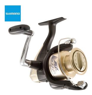 Reel Shimano Ax4000fb Frontal Para Caña De Pesca