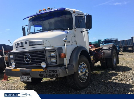 Mercedes Benz 1318 Camion Tractor Eje Simple 1990 Impecable!