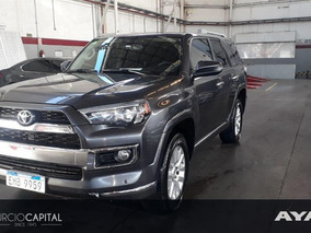 Toyota 4runner 4x4 2018 Gris Oscuro 3 Filas