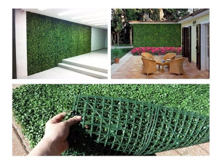 Enredadera Planta Artificial Similar Trebol Plancha 40x60cm