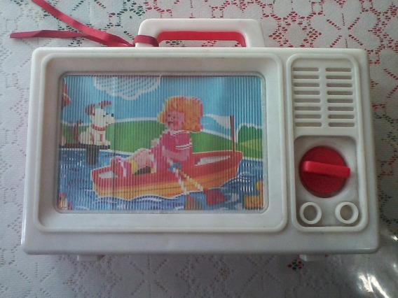 Antigua Alcancia Musical Television Tipo 3d Hong Kong